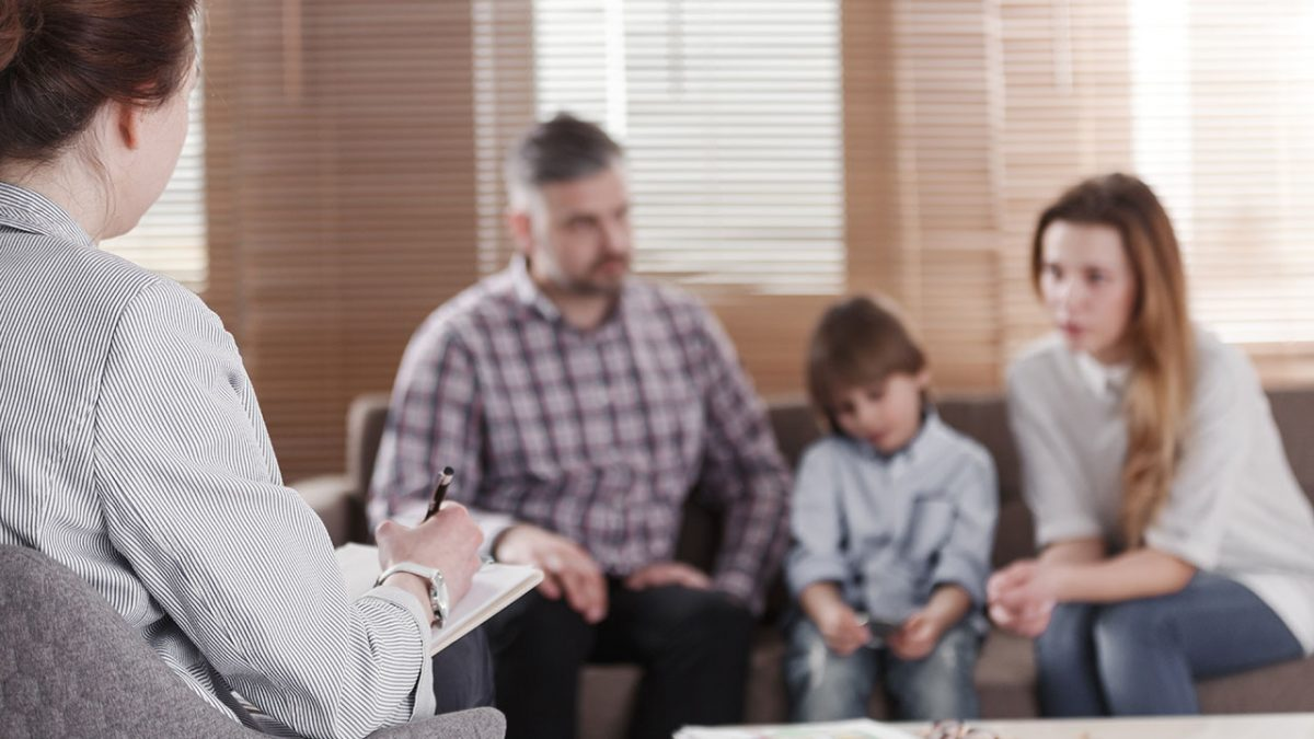 Clarity Health family in therapy for drug abuse